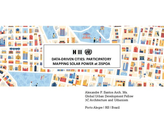DataDriven Cities Participatory Mapping Solar Power At ZISPOA - Data driven mapping