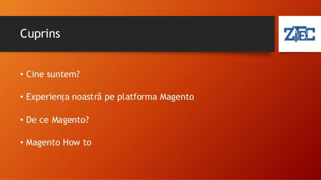 Cine suntem? • Imagine Make it software