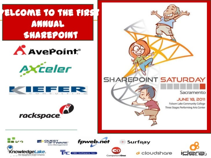 Welcome to the First Annual <br />  SharePoint Saturday <br />Sacramento!!<br />
