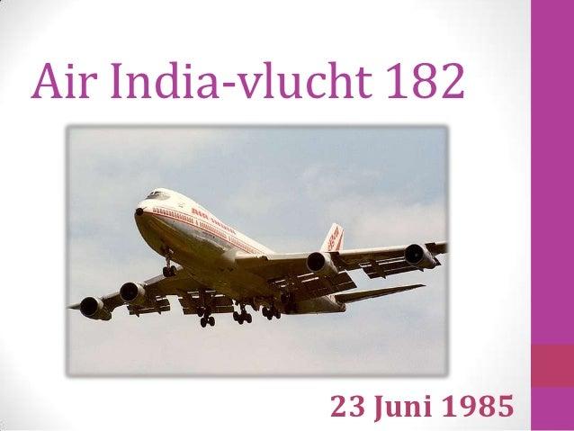 Air India-vlucht 182             23 Juni 1985