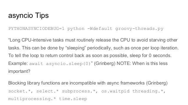 Python Scheduler Async