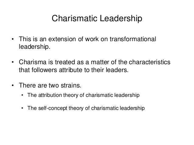 types of charismatic leadership Leadership styles: which type of leader are you  5 different types of leadership styles  charismatic leadership - duration: .