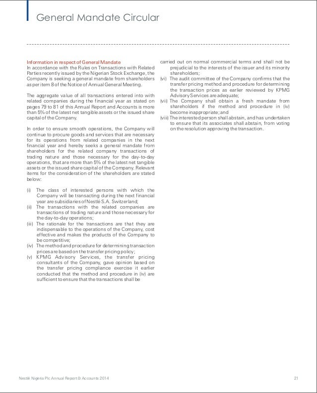nestle annual report Nestlé india limited • annual report 2013 the board of directors of nestlé india l to r b murli svp-legal & c.