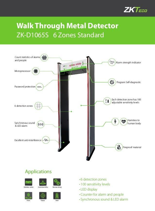 ZKTeco Zk-d1065s (0185-3330355)