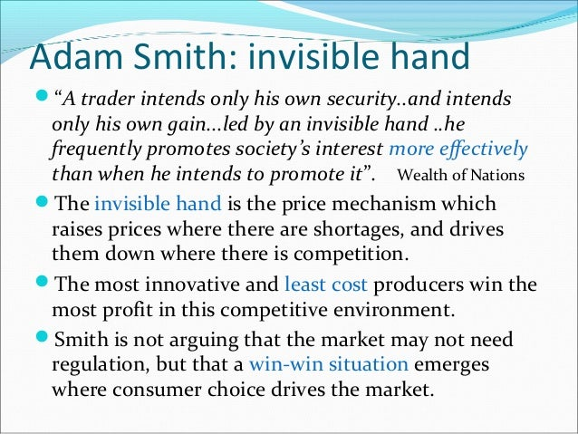 adam smith self interest and social harmony Yet in adam smith's the wealth of  but for their regard to their self interest  we serve our self interests best by serving the self.