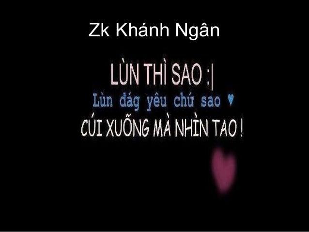 Zk Khánh Ngân