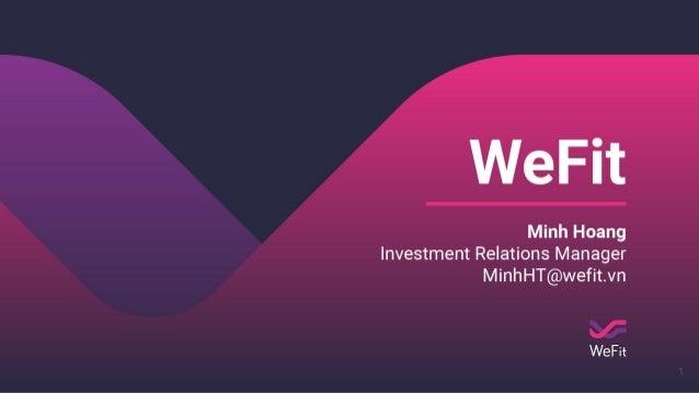 VIISA Investment Day #3 - WeFit Slide 1