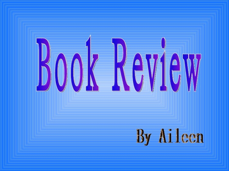 Book Review By Aileen