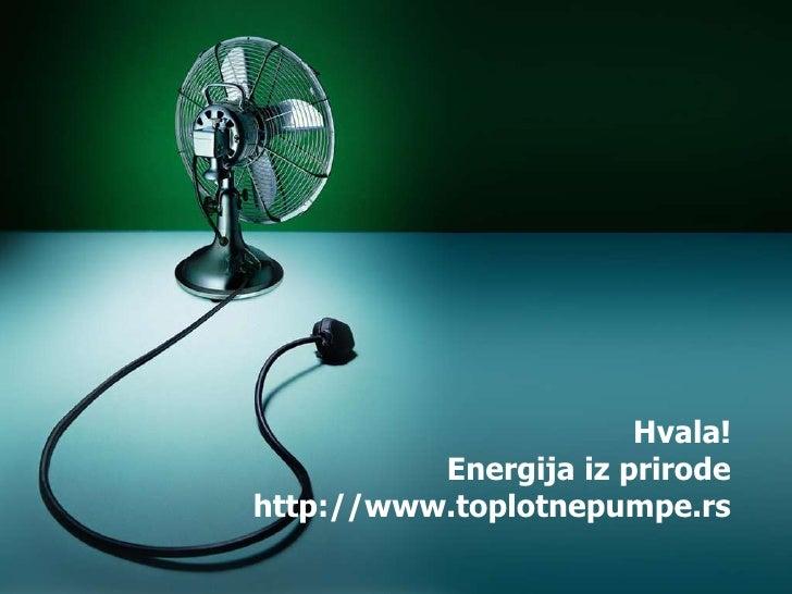 Zelena energija u hotelu na Zlatiboru