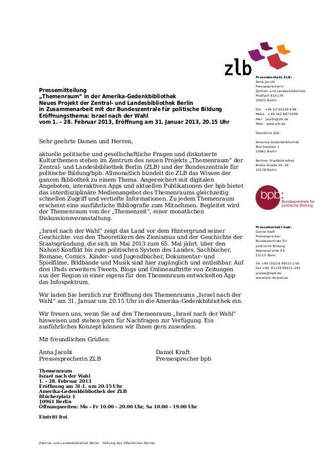Pressekontakt ZLB:                                                                                             Anna Jacobi...
