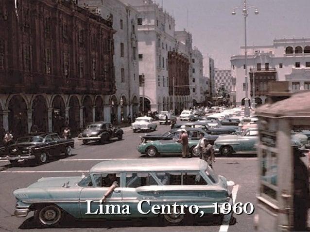Lima Centro, 1960Lima Centro, 1960