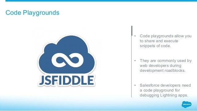 Spark: jsFiddle Meets Salesforce Lightning