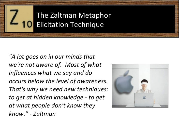 """A lot goes on in our minds that we're not aware of.  Most of what influences what we say and do occurs below the lev..."
