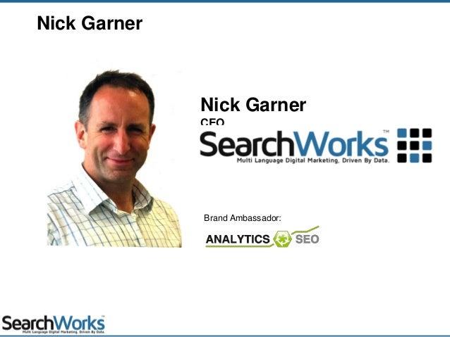 Nick GarnerCEONick GarnerBrand Ambassador: