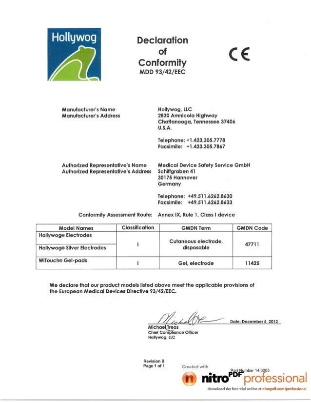 ZMPCHW070000.13.01 CE- Electr0des and gelpads class 1 Dofc