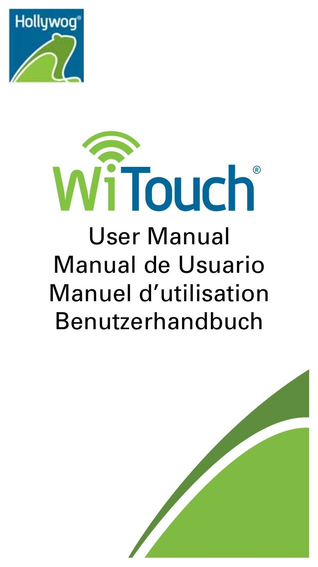 User Manual Manual de Usuario Manuel d'utilisation Benutzerhandbuch  Hollywog 2830 Amnicola Hwy Chattanooga, TN 37406 USA ...