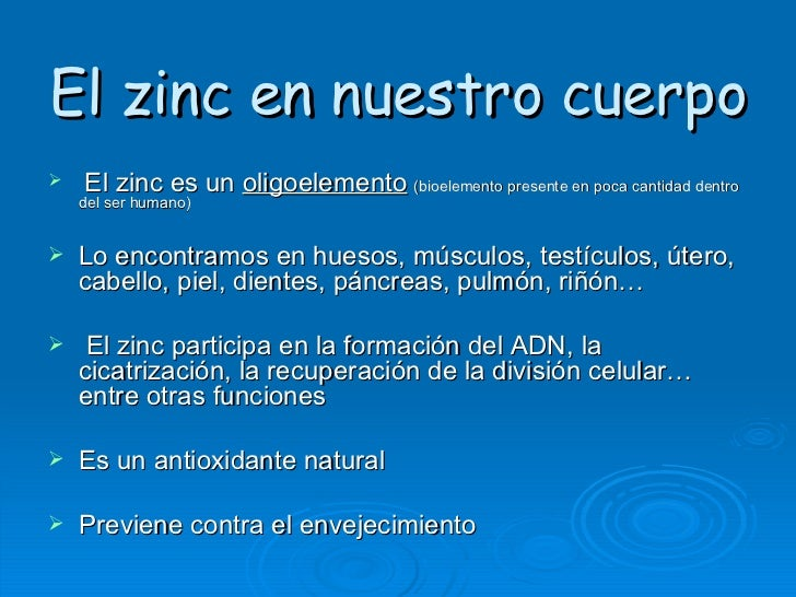 Cinc - En que alimentos se encuentra zinc ...