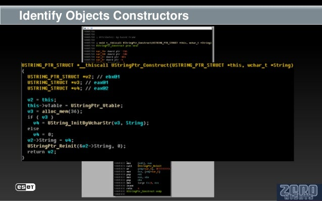 Identify Objects Constructors