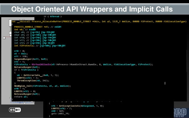 Object Oriented API Wrappers and Implicit Calls
