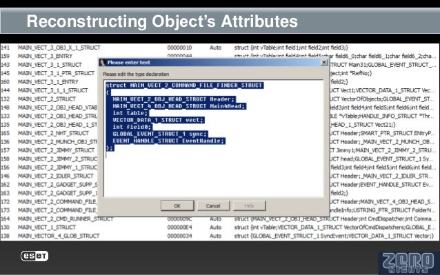 Reconstructing Object's Attributes