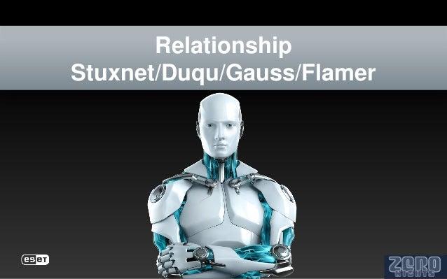 RelationshipStuxnet/Duqu/Gauss/Flamer