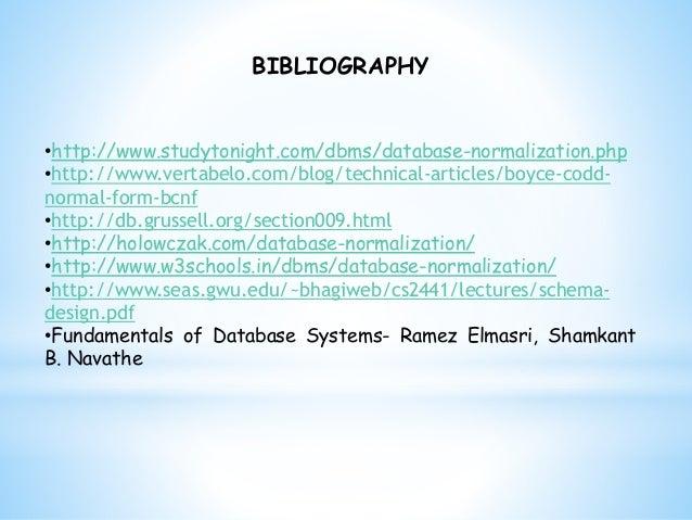 Database Normalization Pdf