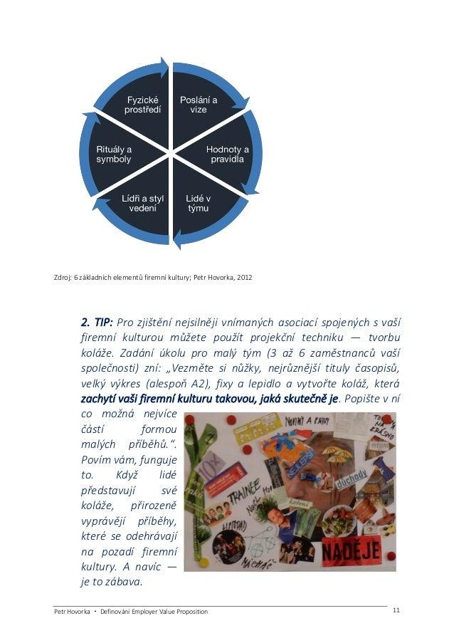 Petr Hovorka ・ Definování Employer Value Proposition 12 Podívejte se na příklady 4 společností, jak představují svou firem...