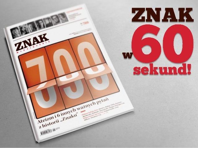 """""""ZNAK"""" nr 700"""