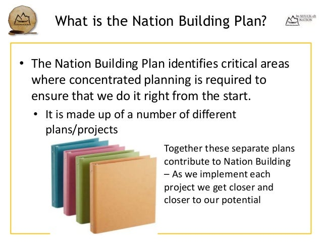 Nation building presentation november 2015 implement those decisions 8 what is the nation building malvernweather Images