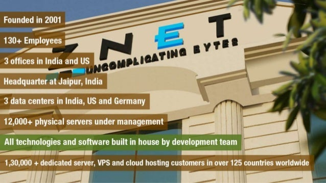 ZNetLive- A Quick Overview Slide 3