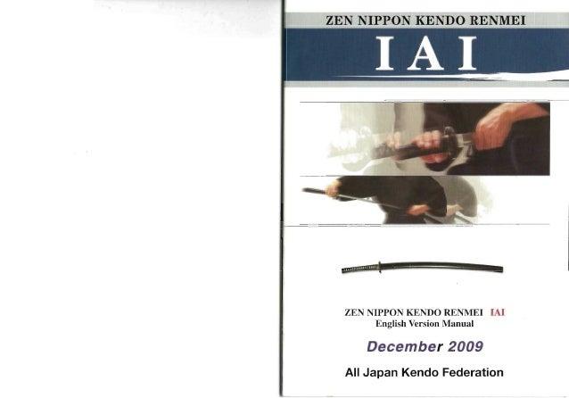 znkr iaido 2009 rh slideshare net Iaido Kata Iaido Calisthenics