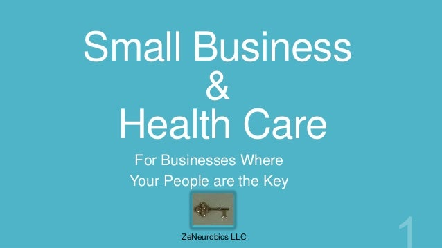 Small Business      & Health Care   For Businesses Where  Your People are the Key         ZeNeurobics LLC