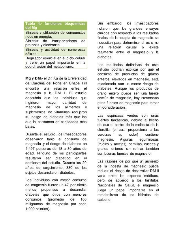 Zinc selenio y magnesio una alternativa terap utica en el paciente - Alimentos ricos en magnesio y zinc ...