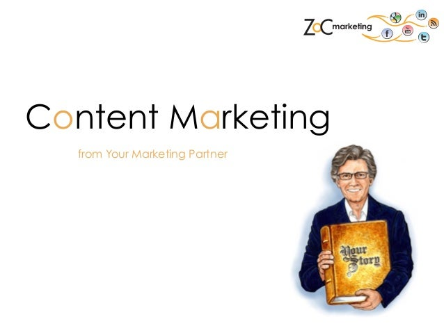 Content Marketing from Your Marketing Partner