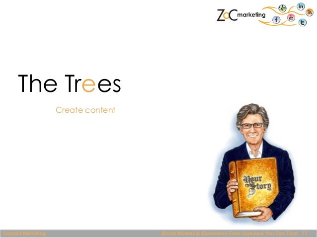 The Trees Create content  Content Marketing  Broad Marketing Experience From Someone You Can Trust 17