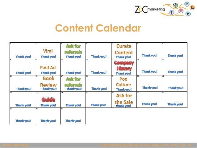 Content Calendar 1    2    3    4    5    6    7    8    9    10    11    12    13    14    15...