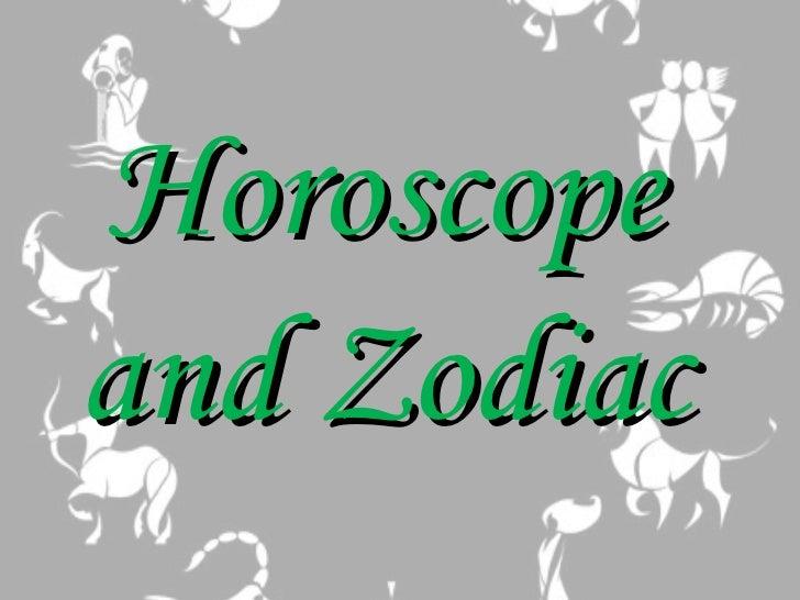 Horoscopeand Zodiac