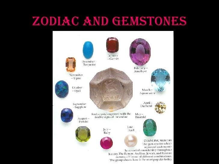 Zodiac and Gemstones