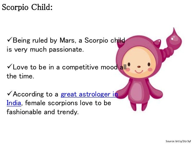 How to Raise Your Scorpio Kid
