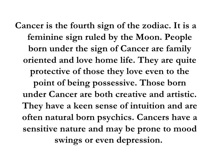 cancer horoscope sign meaning