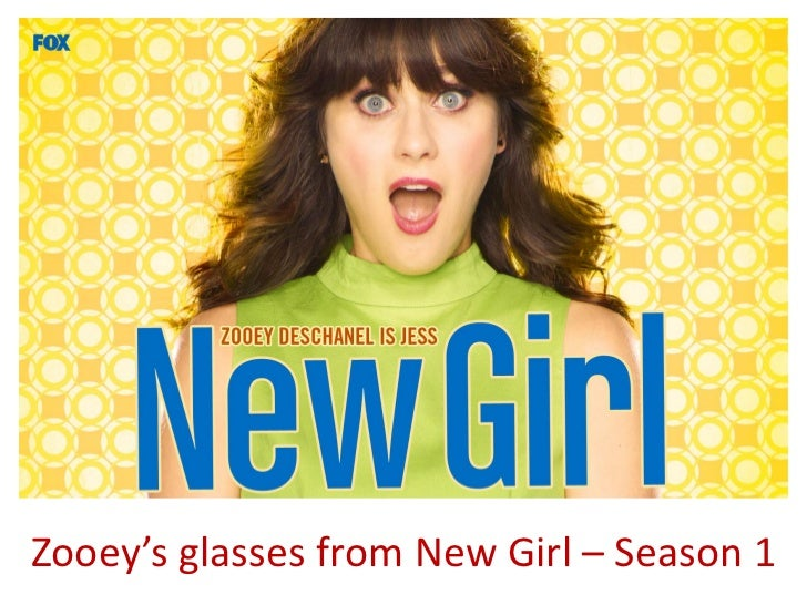 Zooey's glasses from New Girl – Season 1