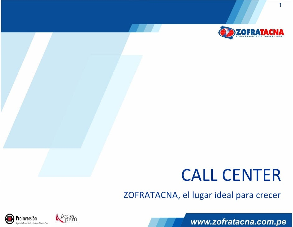 CALL CENTER ZOFRATACNA, el lugar ideal para crecer