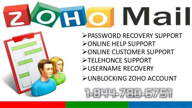 Zoho Online Helpdesk  California 1-844-780-6751