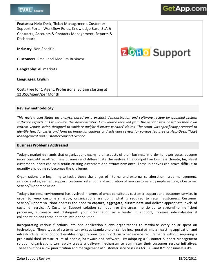 Features:Help‐Desk,TicketManagement,Customer                        SupportPortal,WorkflowRules,KnowledgeBase...