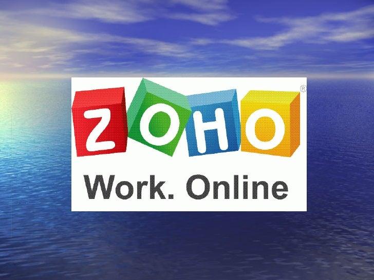 Zoho Corp Que Es