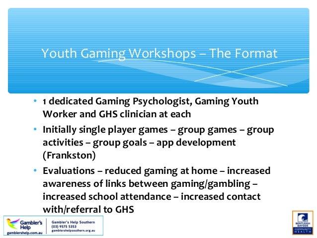 Gambling workshops gambling slang phrases