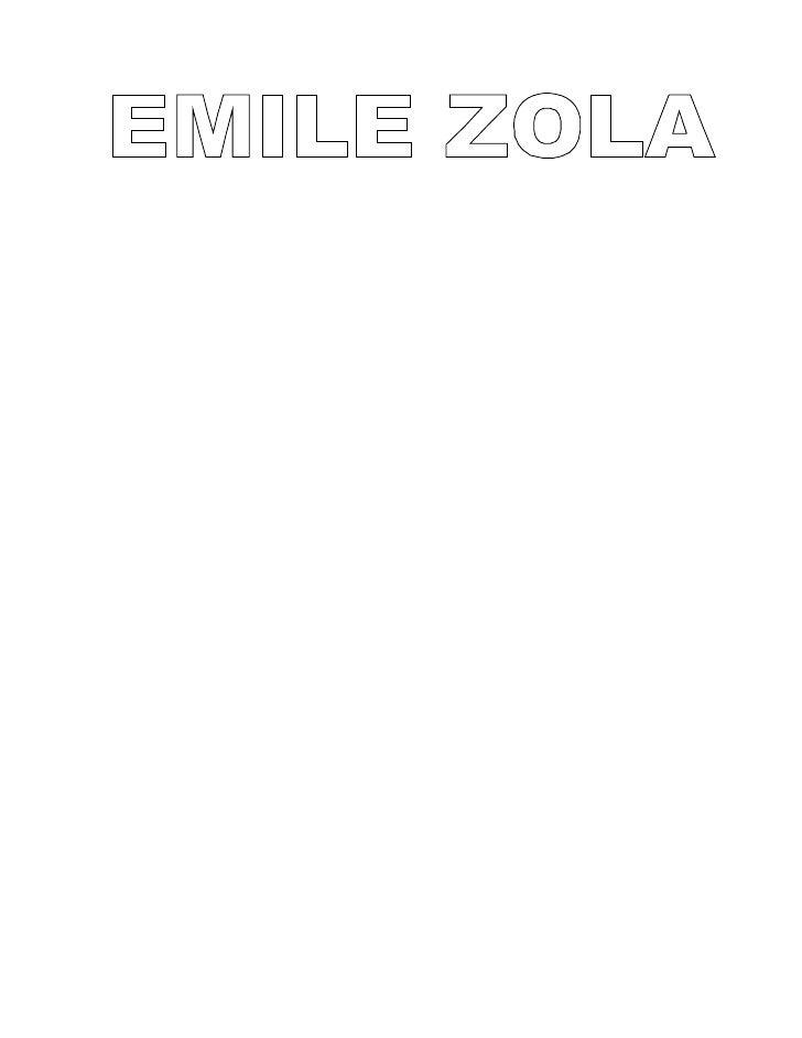 INDICE-PAGE 3 : VIE- ENFANCE ET ADOLENSCENCE-PAGE 4 : VIE- VIE DE BOHEMIE-PAGE 5: VIE- ZOLA COMME JOURNALISTE POLITIQUE-PA...