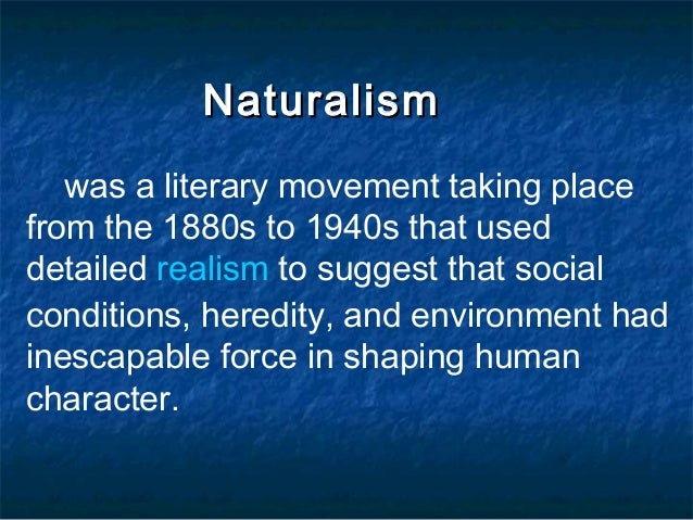 essays realism and naturalism Twisted from the ordinary: essays on american literary naturalism ed mary e papke tennessee studies in literature (tstl) number: 40: u of tennessee p, knoxville, tn the cambridge companion to realism and naturalism: howells to london new york: cambridge university press, 1995.