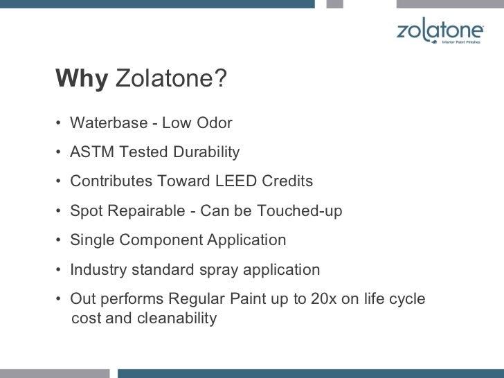 Zolatone Presentation