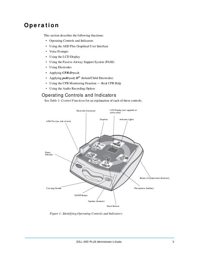 zoll aed plus user manual